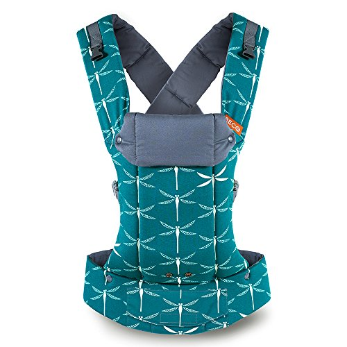 Beco Gemini Baby Carrier – Dragonfly, Sleek and Simple 5-in-1 All Position Backpack Style Sling for Holding Babies, Infants and Child from 7-35 lbs Certified Ergonomic