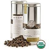 Golden Moon Tea - Jasmine Pearls Tea - Organic - Loose Leaf - Non GMO - 4oz Tin - 48 Servings