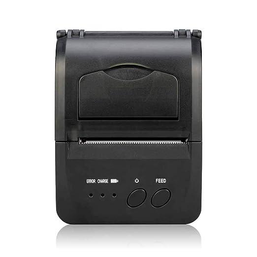 YSZDM Impresora de Etiquetas, Impresora Personal portátil ...
