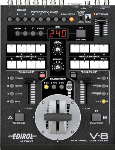 Edirol V-8 8-Channel Video Mixer with Effects