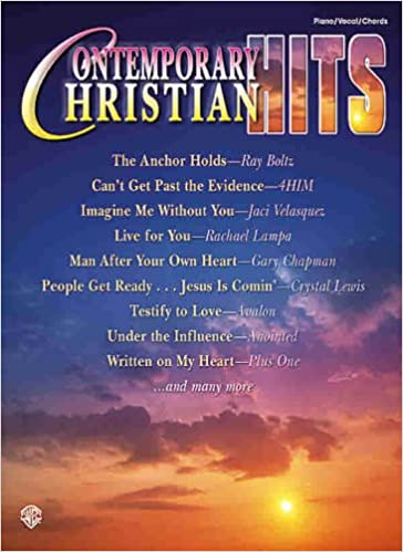 Contemporary Christian Hits Pianovocalchords Alfred Music
