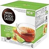 Nescafe DOLCE GUSTO Pods / Capsules - CITRUS HONEY BLACK TEA (NEW) = 16 pods (pack of 3)