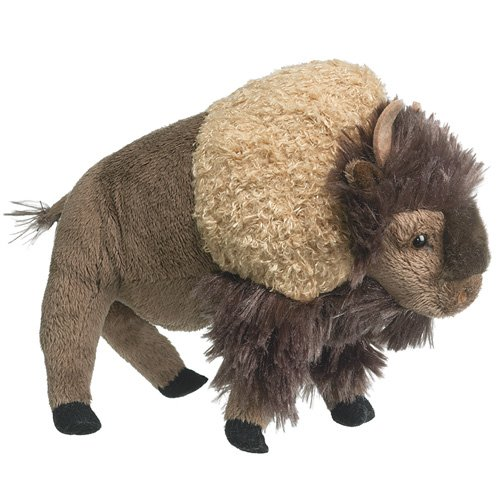 Buffalo Dog Toy - Standing Bison 8