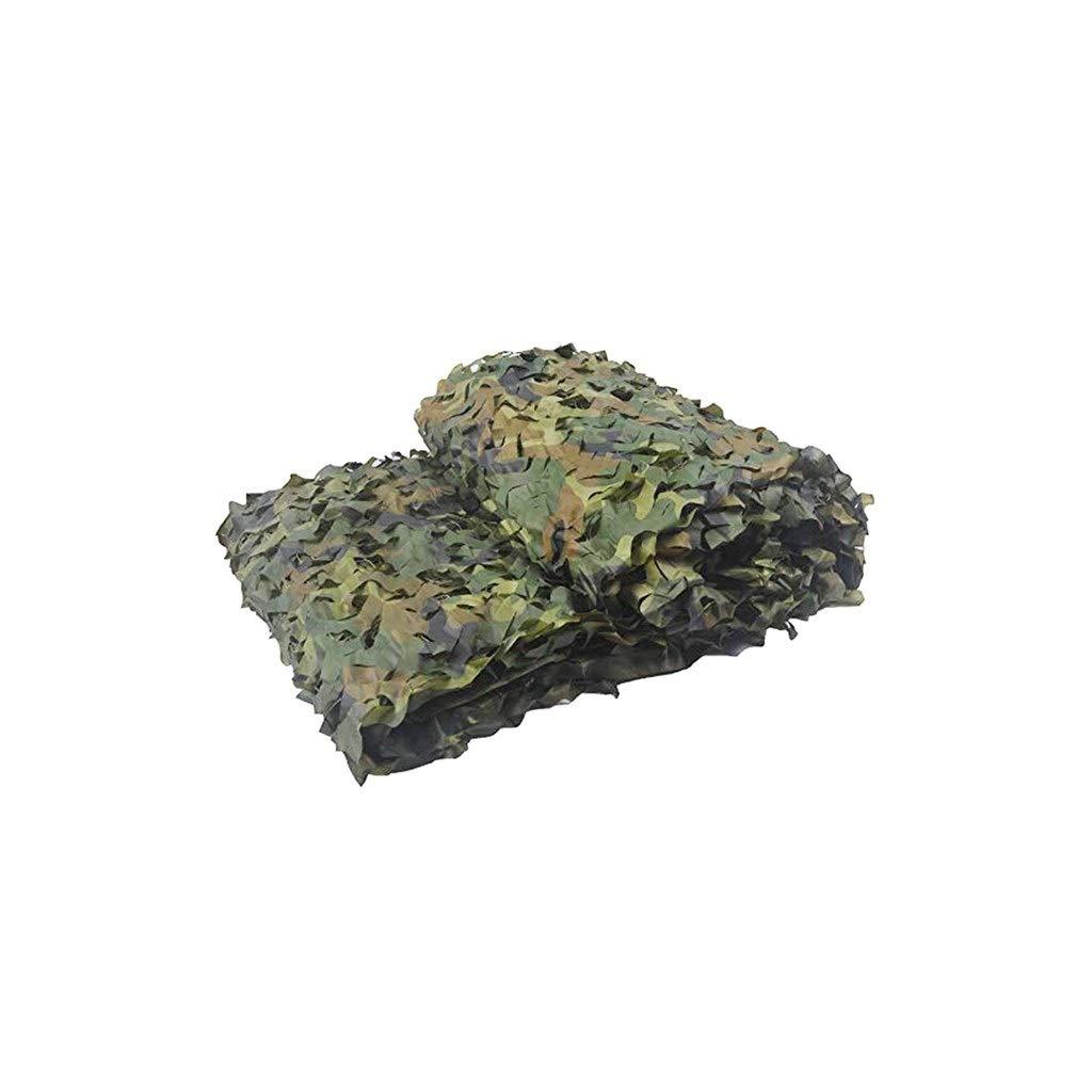 46m WKHQQ-Filet d'ombrage Filet de Camouflage Camouflage, Filet de Camouflage Jungle, Filet de Camouflage Parasol, Filet de décoration Vert Montagne Tente