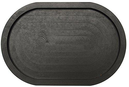 Oval Wooden Burger Platter, Black - Burgers Platter Shopping Results