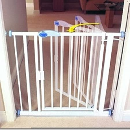 89.4cm - 96.4cm 154cm Gate with Extensions Bettacare Auto Close Stair Gate 75cm