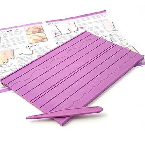 Crafters Companion Topscore Planche multifonction pour la création de cartes et boîtes-cadeaux Avec outil à rainer