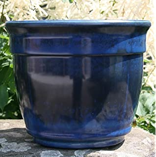 Giant Garden Pots Stone garden planter large garden planter giant garden planter anglo eastern trading xdl 0876mb ardente planter midnight blue workwithnaturefo