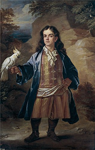 Oil Painting 'Closterman John Retrato De Enano End Of 17 Century', 18 x 28 inch / 46 x 72 cm , on High Definition HD canvas prints is for Gifts And Garage, Hallway And Nursery Decoration