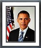 Barack Obama Official 2009 Portrait Photo (Size: 12.5'' x 15.5'') Framed