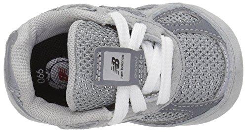En Chaussure Et Avec De Berceau Semelle Synthétique Suède À Grise Garçons New Gris Latéral Balance Garçon Lacets Logo Tissu zHPnA0
