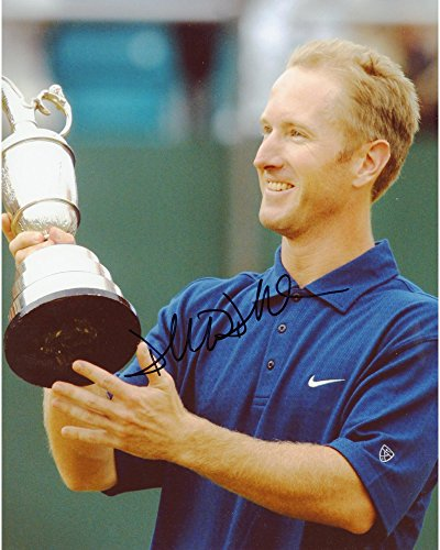 David Duval Autographed 8'' x 10'' Holding Trophy Side View Photograph - Fanatics Authentic Certified by Sports...