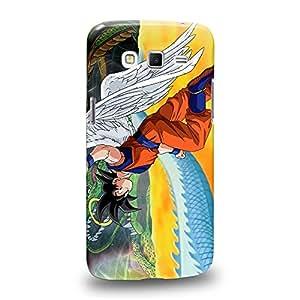 Case88 Premium Designs Dragon Ball Z GT AF Son Gohan Son Goku & Kaio Carcasa/Funda dura para el Samsung Galaxy Grand 2