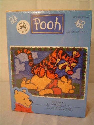 Winnie the Pooh Latch Hook Kit Bounce