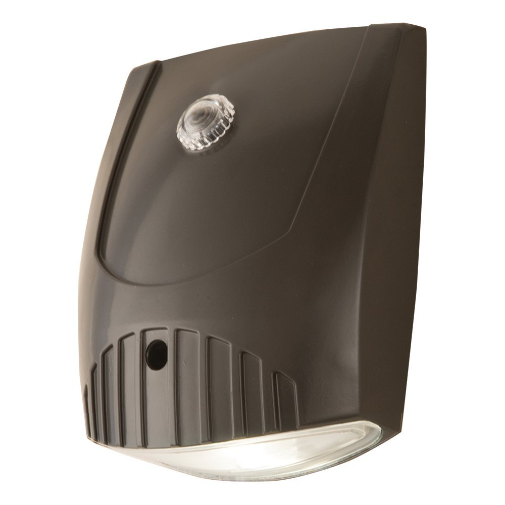 All Pro Outdoor Security WP1050LPC 70W Metal Halide Equivalent LED Wall Pack Dusk-to-Dawn Flood Light, 1000 lm by All Pro Outdoor Security B01AUL3BZO 18575