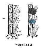 Farios Laundry Cart on Wheels, Home Laundry