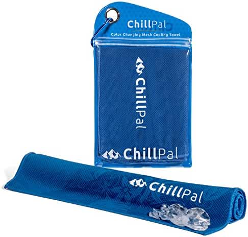 Chill Pal Color Changing Magic Mesh Cooling Towel - Extra Long 12 x 40 inches