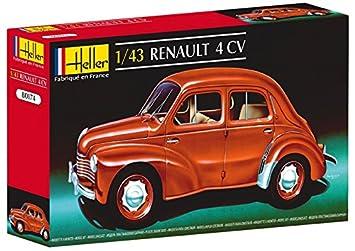 Glow2B Heller - 80174 - Maqueta para Construir - Renault 4 CV - 1/43