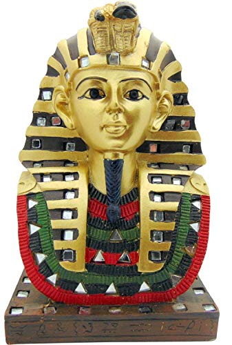 ShopForAllYou Figurines and Statues Ancient Egyptian Pharaoh King TUT Bust MASK 6