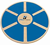 ProFitness Wooden Balance Board (15.5-inch by 3.1-inch) - Exercise, Fitness and Physical Therapy -...