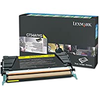 LEXMARK YELLOWHIGHYIELDRETURN PGMTONERCARTRIDGE