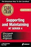 MCSE Supporting and Maintaining NT Server 4, J. Peter Bruzzese and Christian Wolf, 1588801802
