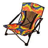 Crazy Creek Beach & Festival Chair – Perfect Concert Seat, Sit Low Comfortable a Picnic, Beach, Taligating RV Use – Easy to Carry Chair in a Bag, Heavy Duty