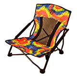 Crazy Creek Products Quad Beach/Festival Chair, Tie-Dye...NEW