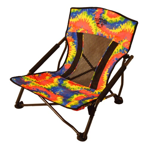 Crazy Creek Quad Beach and Festival Chair - Tie-Dye