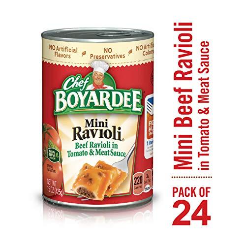 Chef Boyardee Mini Ravioli, 15 oz, 24 -