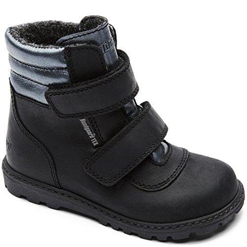 Bundgaard Kids Boot Tokker Black Ch/Pewter CH/Pewter