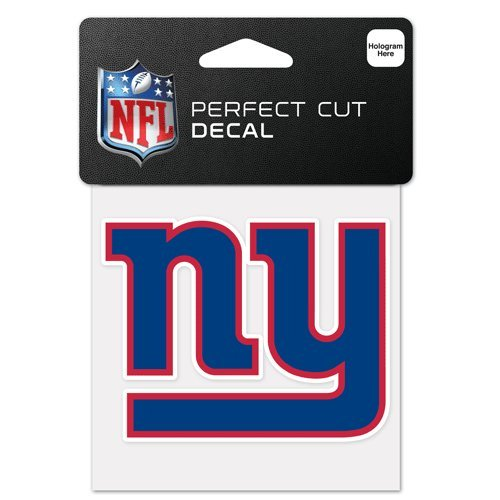 - New York Giants Perfect Cut Color Decal 4x4