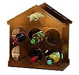 Henson Metal Works 4700-35 University of Arkansas Logo Wine Rack