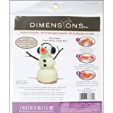 Dimensions Needlecrafts Needle Felted Character Kit, Snowman