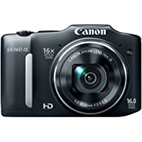 Canon PowerShot SX160 IS 16.0 MP Digital Camera (Old...