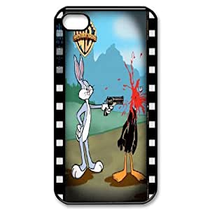 IPhone 4/4s Case Duck Face, Iphone 4s Cases for Boys - [Black] Yearinspace