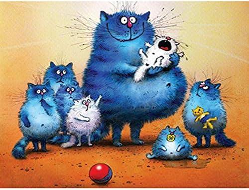 Rompecabezas Puzzle Adulto 1000 Piezas Familia De Dibujos Animados De Gatos Juguetes Educativos Para Niños: Amazon.es: Bricolaje y herramientas