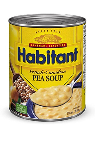Habitant Yellow Pea Soup, 791ml/26.92-Ounce (Pack of (Yellow Pea Soup)