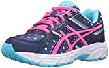 ASICS GEL-Contend 3 GS Running Shoe (Little Kid/Big Kid), Indigo Blue/Pink Glow/Aquarium, 4 M US Big Kid