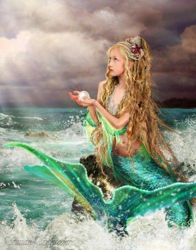 Marina Mermaid Fantasy Art