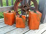Large Wooden Pumpkins - Set of Rustic Pumpkins Decor - Front Porch Fall Decor - Pumpkin Blocks - Halloween Decor - Wood Pumpkin Blocks