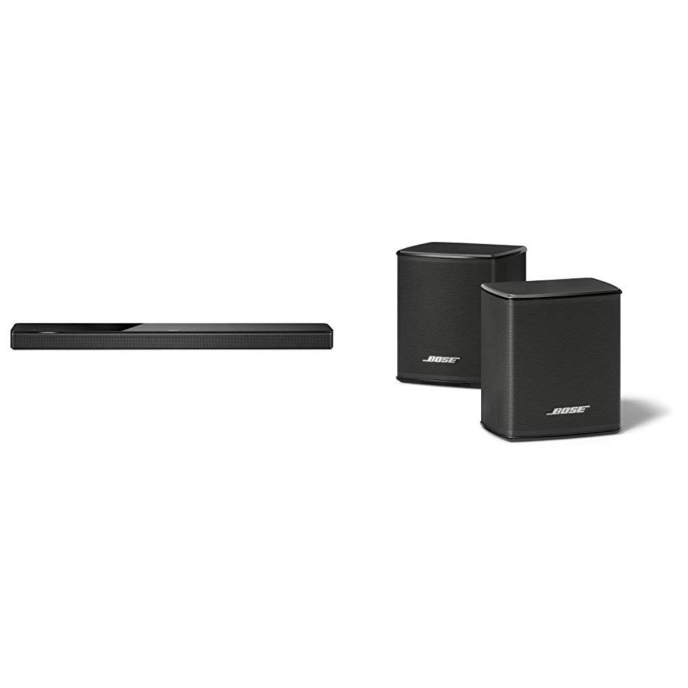 Bose - Barra de sonido 700, negro + Surround Speakers, negro
