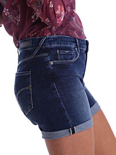 Gas Mujer Azul Para Corto Pantalón Hqw4rH