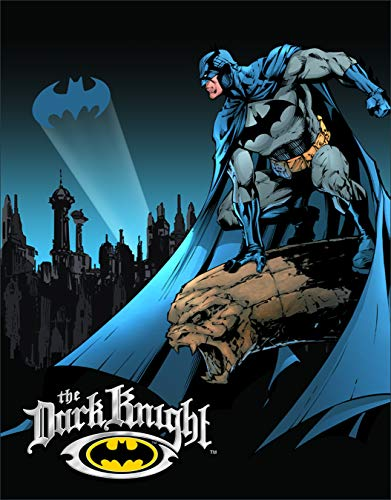 Desperate Enterprises Batman The Dark Knight Tin Sign, 12.5
