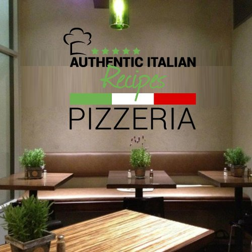 Full Color Wall Decal Pizza Italian Restaurant Pizzeria Signboard Cafe Mcol26