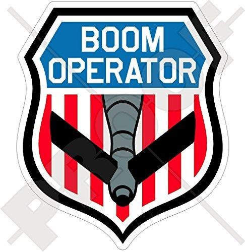 (BOOM OPERATOR Shield USAF KC-135 Stratotanker, KC-10 Extender, KC-767, KC-46 Pegasus Refueling Tanker Aircraft USA American 4