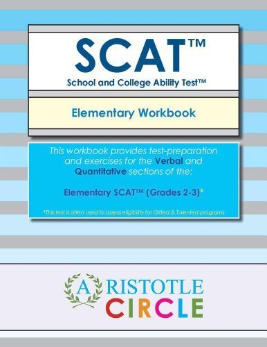 Elementary SCAT()  Workbook (Grades 2-3)