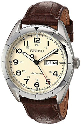 seiko-mens-japanese-automatic-stainless-steel-and-leather-casual-watch-colorbrown-model-srp713