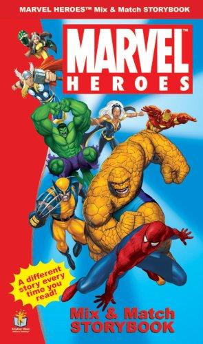 Marvel Heroes: Mix & Match Storybook pdf
