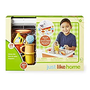 just like home kitchen sink toys games. Black Bedroom Furniture Sets. Home Design Ideas